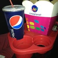 Photo taken at CinePlanet by Pamela V. on 3/6/2013