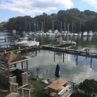 Photo taken at Deep Creek Restaurant and Marina by Tim C. on 10/18/2014