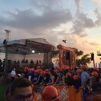 Photo taken at Northwestern Lakeside Field by Bradley S. on 10/5/2013