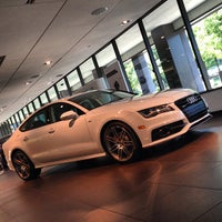 Photo taken at Audi Forum by FOURTITUDE.COM, The Audi Enthusiast Website on 8/22/2013