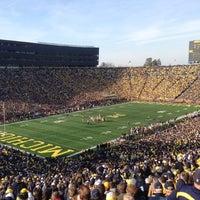 Photo taken at Michigan Stadium by Brent D. on 11/17/2012