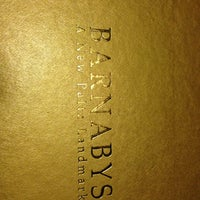 Photo taken at Barnaby's Steakhouse by Lex E. on 3/1/2013