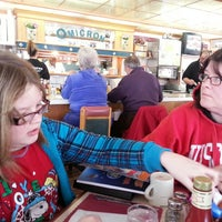 Photo taken at Omicron Family Restaurant by Tom H. on 2/23/2013