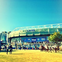 Photo taken at Rod Laver Arena by Jenson L. on 1/27/2013