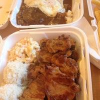 Photo taken at Ohana Hawaiian BBQ by Jenna-Lynn F. on 10/31/2012