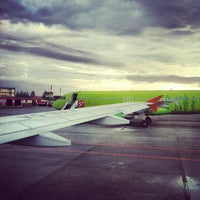 Photo taken at Bolshoye Savino International Airport (PEE) by Алексей Сергеевич on 5/27/2013