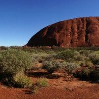 Photo taken at Uluru by Alan T. on 6/11/2013