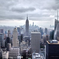 Photo taken at Top of The Rock Observation Deck by Abe D. on 7/12/2013
