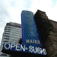 Photo taken at Maiko Sushi Lounge by Dana F. on 4/14/2013