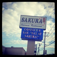 Photo taken at Sakura Japanese Restaurant by J. Isobel D. on 10/20/2012