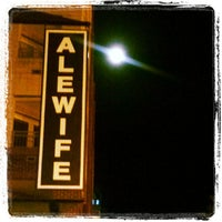 Photo taken at Alewife by Grace G. on 6/23/2013