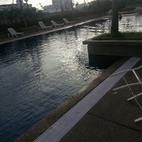 Photo taken at Symphony Park Swimming Pool by Yong B. on 5/9/2013