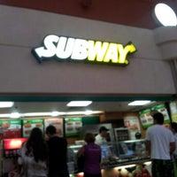 Photo taken at Subway by Bruno M. on 9/29/2012