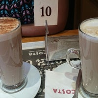 Photo taken at Costa Coffee by La J. on 2/14/2015