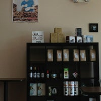 Photo taken at Bee Coffee Roasters by Tom B. on 6/22/2013