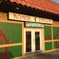Photo taken at Komol Restaurant by Tom B. on 4/8/2013