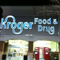 Photo taken at Kroger by Brandon M. on 12/22/2012