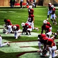 Photo taken at Stanford Stadium by Juca on 10/6/2012