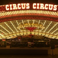 Photo taken at Circus Circus Hotel & Casino by Takahiro B. on 10/8/2012