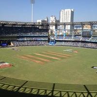 Photo taken at Wankhede Stadium by Rishi B. on 4/6/2012