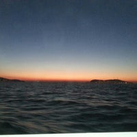 Photo taken at Sea of Marmara by Can D. on 9/23/2012