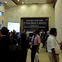 Photo taken at Bali Nusa Dua Convention Center (BNDCC) by Nova on 10/30/2012
