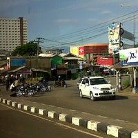 Photo taken at Pangkalan DAMRI Jatinangor by Lina M. on 7/19/2013