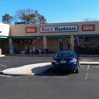 Photo taken at Ken's Hardware by Lorenzo on 3/3/2013