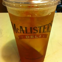Photo taken at McAlister's Deli by Kevin C. on 7/12/2013