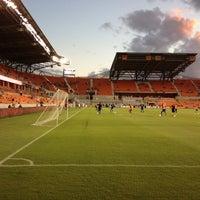Photo taken at BBVA Compass Stadium by Charles C. on 10/5/2013