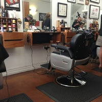 Photo taken at Maloney's Barber Shop by David T. on 2/11/2013
