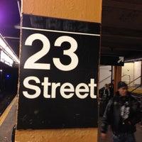 Photo taken at MTA Subway - 23rd St (C/E) by John C. on 12/7/2012