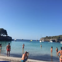 Photo taken at Cala Turqueta by Montse V. on 7/25/2016