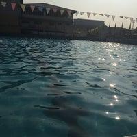 Photo taken at Abellana Swimming Pool by Cai C. on 10/3/2015