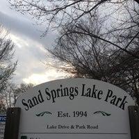 Photo taken at Sand Springs Lake by David B. on 3/29/2013
