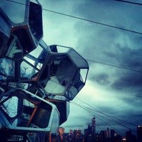 Photo taken at Cloud City on the Met Roof by Micah W. on 10/26/2012