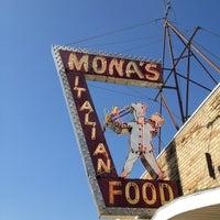 Photo taken at Mona's by Tammy V. on 7/18/2013