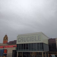 Photo taken at Crucible Theatre by Gaz on 4/17/2013