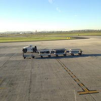 Photo taken at Puerta/Gate 4 by Diego H. on 2/13/2013