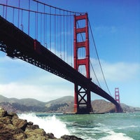 Photo taken at Golden Gate Bridge by Evan S. on 7/13/2013