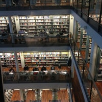 Photo taken at CBS Library by Louise S. on 2/16/2013