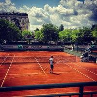 Photo taken at Stade Roland Garros by Laurène D. on 6/27/2013