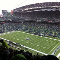 Photo taken at CenturyLink Field by Patty on 9/22/2013