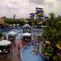 Photo taken at Suncity Waterpark by Abanx A. on 12/30/2012