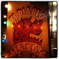 Photo taken at El Diablo Tacos by rich g. on 11/21/2012
