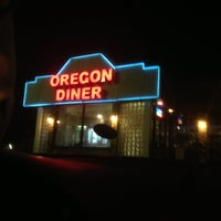 Photo taken at Oregon Diner by Daniel V. on 11/15/2012