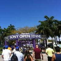 Photo taken at Crandon Tennis Center by Marcio B. on 3/31/2013