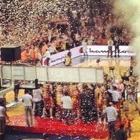Photo taken at Abdi İpekçi Arena by Merve K. on 6/15/2013