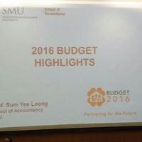 Photo taken at SMU School of Accountancy & Law by gene'ahtan g. on 3/30/2016