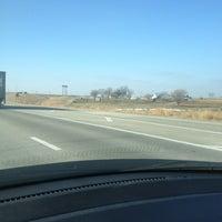 Photo taken at Interstate 35 by William K. on 12/27/2012